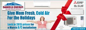 Mitsubishi Electric Split Ductless A/C