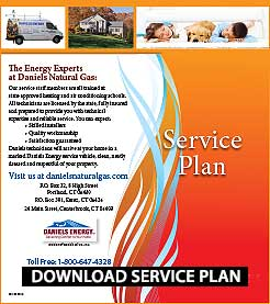 Natural Gas Service Plan