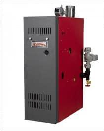 Crown water heater
