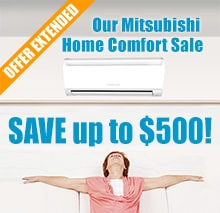 Mitsubishi Electric Mr. Slim Ductless AC