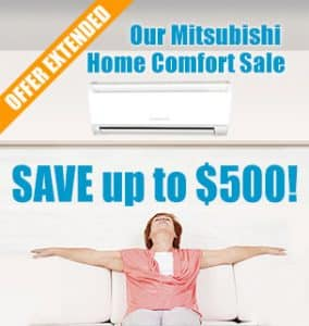 Mitsubishi Electric Mr. Slim Ductless Air Conditioning