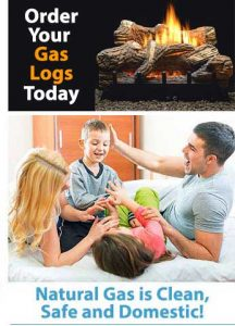 Natural Gas Logs