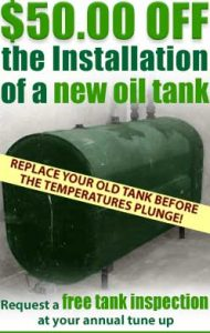 Replace your old oil tank