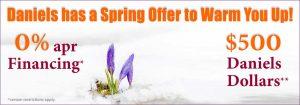 Daniels Spring Offer