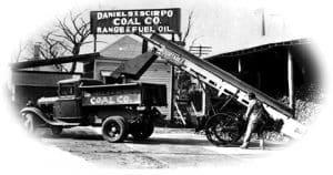 Daniels Coal Truck - 1920's