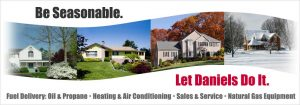 Daniels oil, propane, natural gas, heating and air conditioning