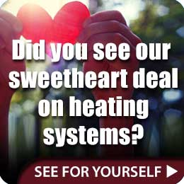 save on heating systems!