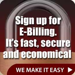 Sign Up for E-billing