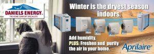 Install an Aprilaire Dehumidifier