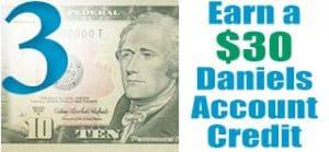 Daniels Energy Account Credit