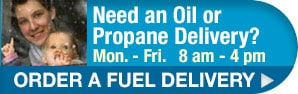 Order propane or oil delivery