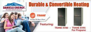 Trane oil and propane furnaces