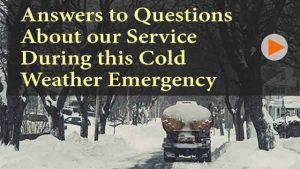 Winter Emergency Information