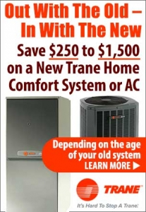 Trane Home Comfort System heating and AC